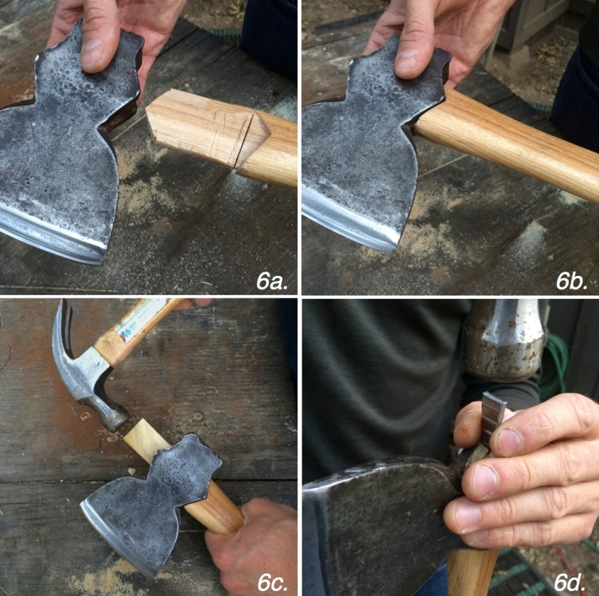 hatchet step 6
